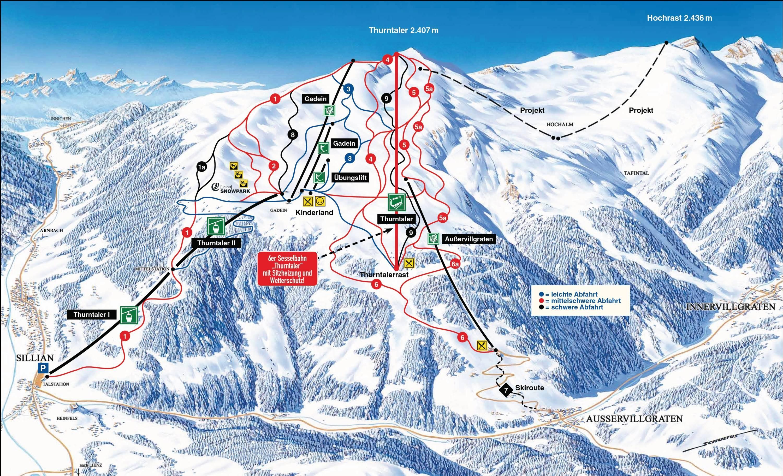 Pistenplan top schiregion katschberg webcam