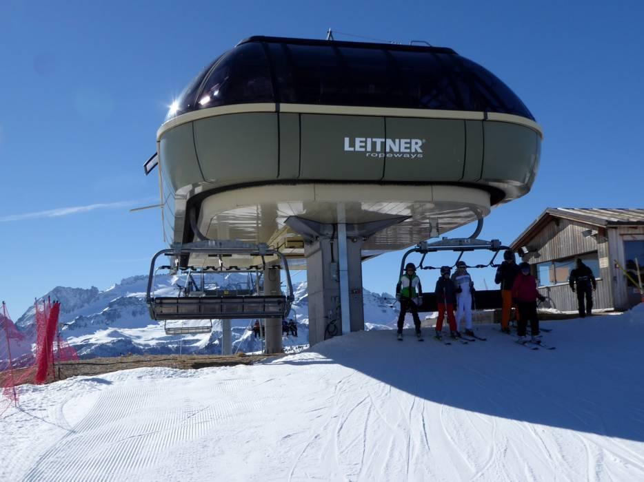 Immagini del comprensorio sciistico Carezza Ski.