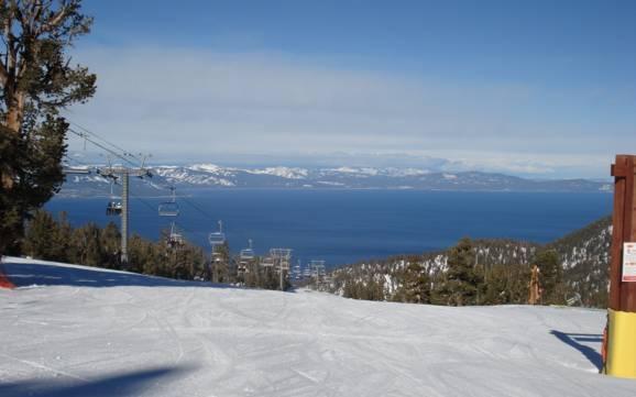 Lake tahoe lago tahoe comprensori sciistici pi alti for Cabina nel noleggio lago tahoe